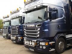 Sicherer Transport und pünktliche Lieferung von Material europaweit