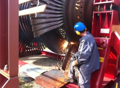 Wir sind spezialisiert auf die Demontage von Industrieanlagen